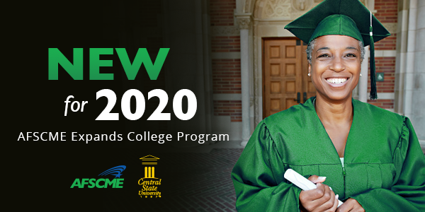 Earn a Bachelor's Degree with New AFSCME Benefit